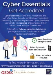 Get Cyber Essentials Accredited