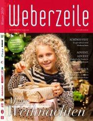 WEBERZEILE Magazin - Winter 2019