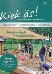Kiek äs  Ausgabe 29 / 2019