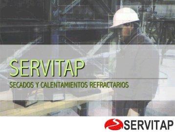SECADOS Y CALENTAMIENTOS REFRACTARIOS - Servitap