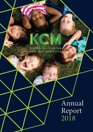 KCM Annual Report 2018