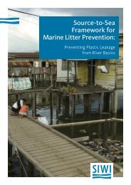 Framework for Marine Litter Prevention