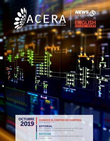 Newsletter ACERA - Octubre 2019