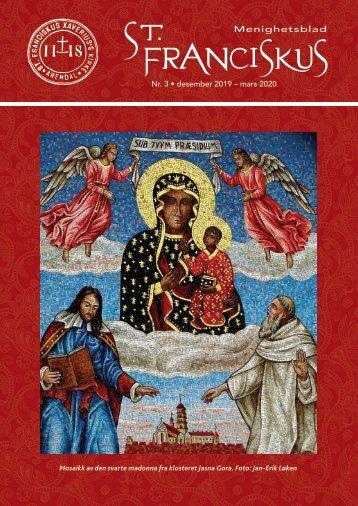 St. Franciskus Xaverius menighetsblad nr 3 - 2019