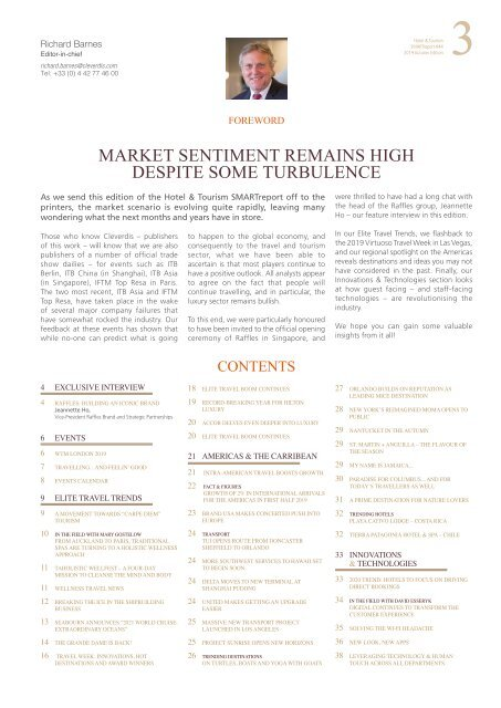Hotel & Tourism SMARTreport #44