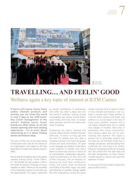 Hotel & Tourism SMARTreport #44
