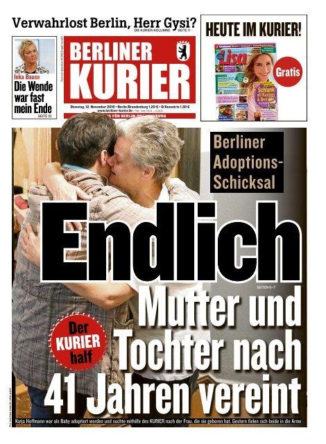 Berliner Kurier 12.11.2019