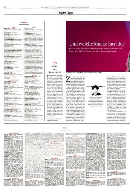 Berliner Zeitung 12.11.2019