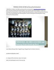 TERMURAH, WA 0852 1533 9500 Jual Bawang Hitam Bandung Barat