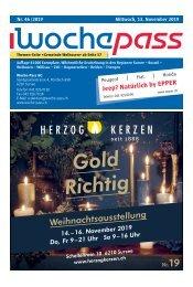 Woche-Pass | KW 46 | 13. November 2019