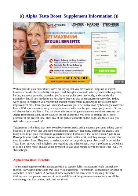 Untitled Alpha Testo Boost Read Reviews & working