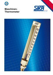 Maschinen- Thermometer - Measurement Valley