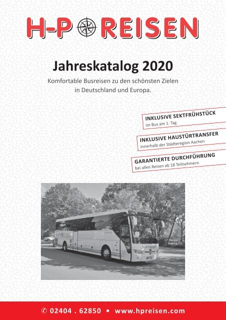 HP Reisen Sommer 2020