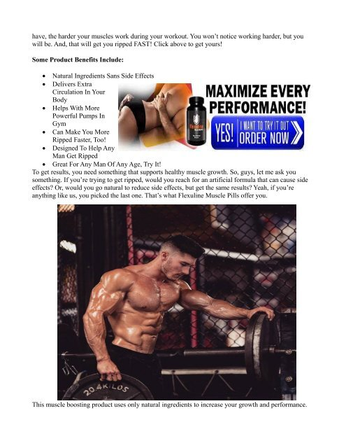 How Does Work Flexuline Muscle Builder?