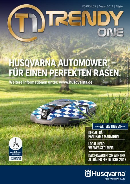 TRENDYone | Das Magazin - Allgäu - August 2017