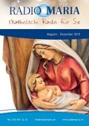 Radio Maria Magazin - Dezember 2019