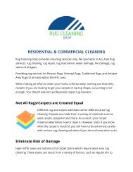 Rug Odor Removal Services in NYC | Rug Cleaning Shop