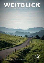WEITBLICK Sustainability Report 2019