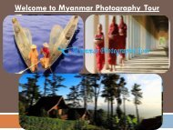 Welcome to Myanmar Photography Tour