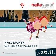 Hallescher Weihnachtsmarkt 2019