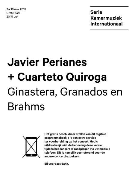 2019 11 16 Javier Perianes + Cuarteto Quiroga