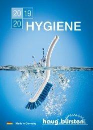 Haug Bürsten Hygiene - 2019 / 2020