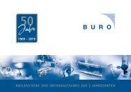 Jubiläum Buro - Chronik 50 Jahre