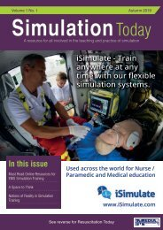 Simulation Today Autumn 2019