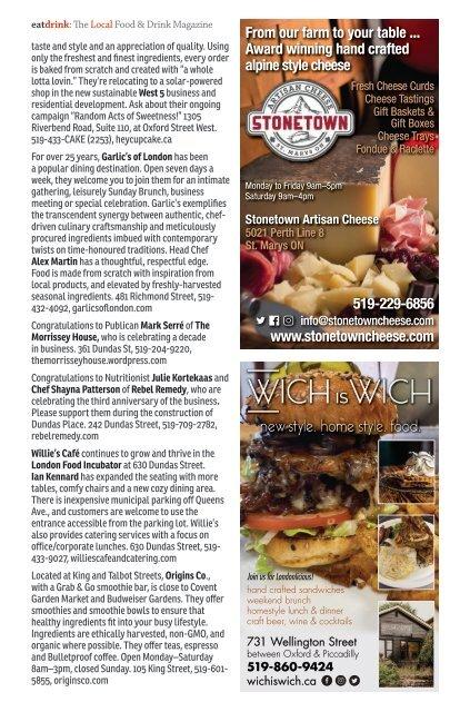 Eatdrink #80 November/December 2019 - The Holiday Issue