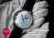 Gallery Guide 2019 Christie´s CHT
