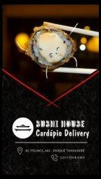 Cardápio Sushi House