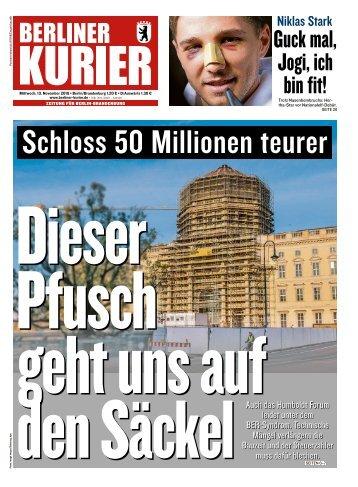 Berliner Kurier 13.11.2019