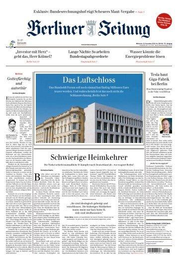 Berliner Zeitung 13.11.2019