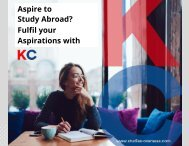 Accomplish your Study Abroad Aspirations with KC