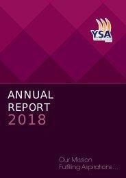 YSA Annual Report 2018