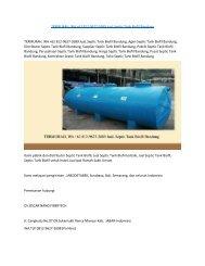TERMURAH, WA +62 812-9627-2689 JuaL Septic Tank Biofil Bandung