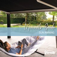 Moments Guide sun awning