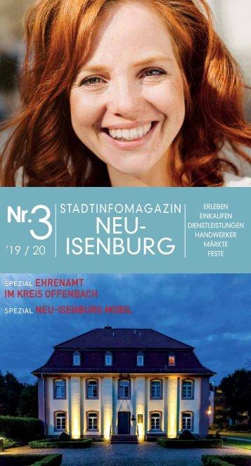 Stadtinfomagazin Neu-Isenburg 2020