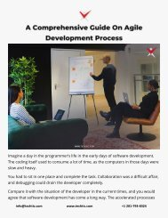 A Comprehensive Guide On Agile Development Process