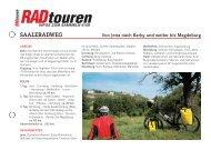 saaleradweg - Radtouren Magazin