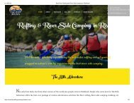 Best River Rafting and River-Side Camping in Rishikesh