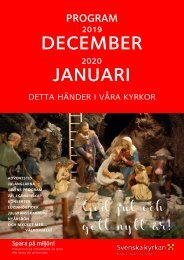 Karlstads pastorats månadsblad dec 2019-jan 2020