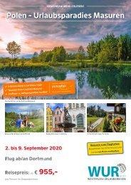 Polen - Urlaubsparadies Masuren