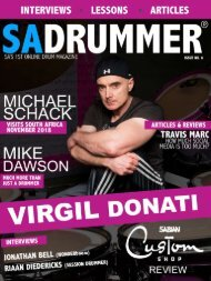 Issue 6 - Virgil Donati - November 2018