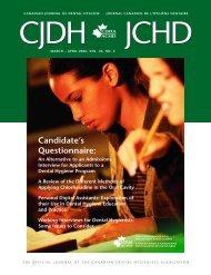 Canadian Journal of Dental Hygiene v40n2