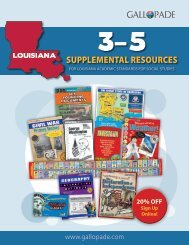 Louisiana Supplemental Catalog