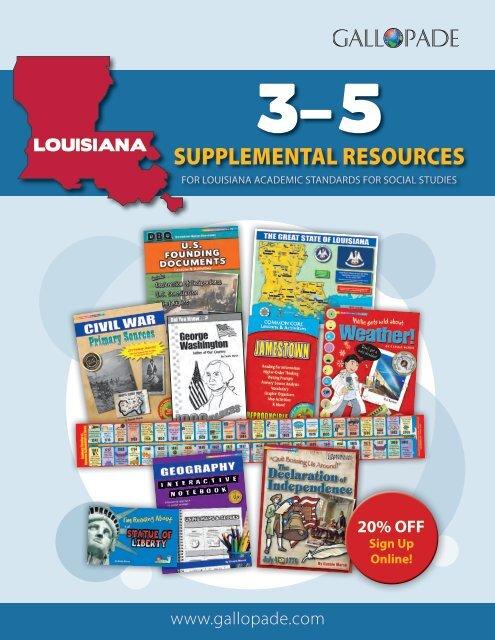 Louisiana Supplemental Catalog