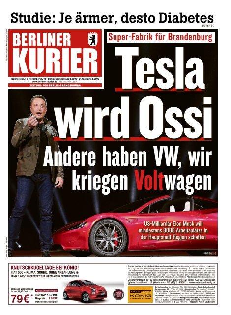 Berliner Kurier 14.11.2019
