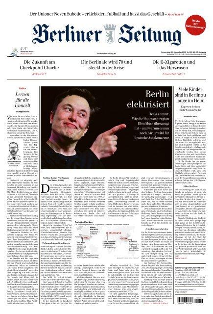 Berliner Zeitung 14.11.2019