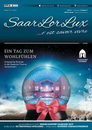 SaarLorLux ...c'est savoir vivre Herbst/Winter Edition 2019